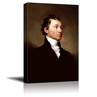 Lovely Print, Portrait of James Monroe by Samuel Morse (5th President of The United States) American Presidents Series, Quality Creation