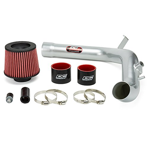 DC Sports CAI5022 Polished Cold Air Intake System with Filter and Installation Hardware
