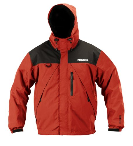 Frabill F2 Surge Rainsuit Jacket, Red, XX-Large