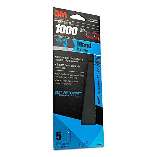 1000 grit paper - 2
