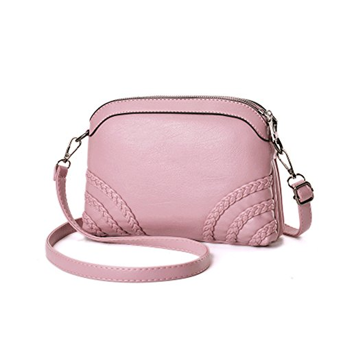 B Phone Sanxiner Clutch Bags Crossbody Cell For Bag Women Shoulder Purse pink Wallet IwAPqZw