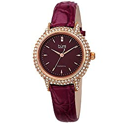 Swarovski Crystal Studded Case Watch