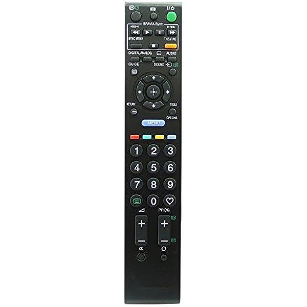 ALLIMITY RM-ED016 Control Remoto Reemplazar por Sony LED LCD Bravia TV KDL-32W5840 KDL-37V5500 KDL-37V5610 KDL-37V5800 KDL-37V5810 KDL-37W5500 KDL-37W5710 KDL-37W5720 KDL-37W5730 KDL-37W5740: Amazon.es: Electrónica