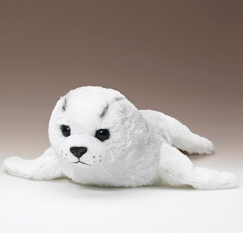 - XL White Harp Seal Pup 24 Inch Super Soft Fur by Conservation Critters