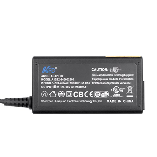 [UL LISTED]KFD Scanner Thermal Printer Power Supply For EPSON Tm-290ii Ps179 PS-180 PS-170 Ps180 Ps179 Pc-180 Ps-150 M235a Tm-u220p M159a M159b M129C TM-T88IV TM-T88iii TM-T88ii Tm-t88vi 24V 2.5A 60W by KFDtech (Image #2)