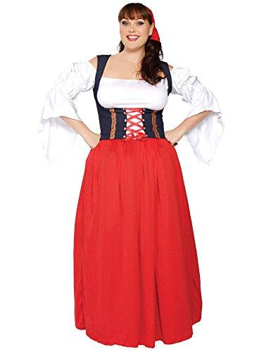 Roma Swiss Miss Costume (Swiss Miss Adult Costume - XX-Large)