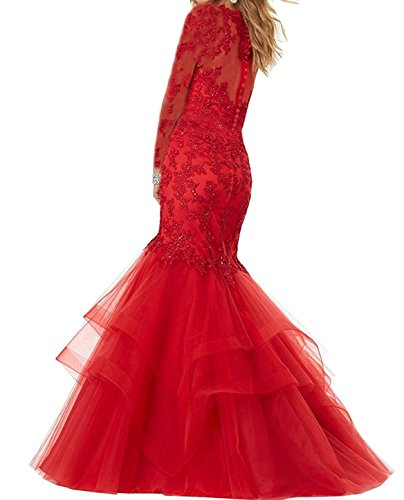 Style Long Mermaid Lace Bonnie Sleeves Prom Peacock With Z Bonnie Embroidered Shop Beaded Dresses Party Gowns Prom BS014 Formal Ball xAq8a04