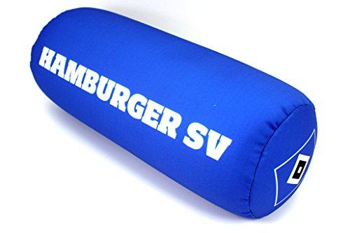 HSV Hamburger SV Nackenrolle Nackenkissen Dekokissen Autokissen Relaxkissen Kissen