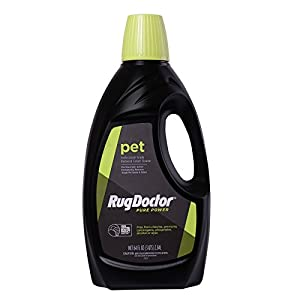 Rug Doctor Pure Power Pet, Eco-Friendly Carpet Cleaning Solution Removes New and Old Pet Stains Without the Harsh Chemicals and Dyes, 64oz.