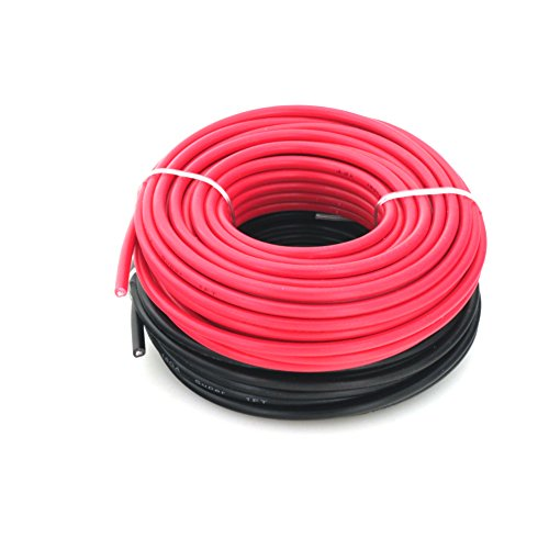 16 ga true american wire gauge ofc equivalent cca copper clad 16 ga true american wire gauge ofc equivalent cca copper clad aluminum primary wire red black bundle in 25 feet roll 50 ft total keyboard keysfo Image collections