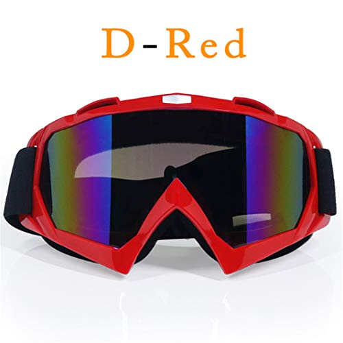 MT&GLAGGLE Motocross Glasses Off-Road Dirt Bike ATV DH MX Motorcycle Glasses Racing Eyewear Skiing Motocross Goggles Replaceable Lens B2