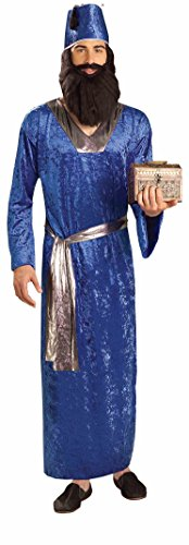 Wise Men Costumes (Forum Novelties Men's Biblical Times Wise Man Costume, Blue, One Size)