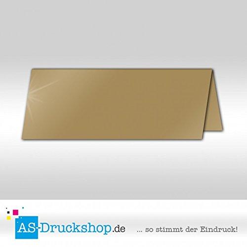 Große Tischkarte Platzkarte - Weiss - Seidig 100 Stück 13,2 x 5,1 cm B079Q1DD3R | Günstigen Preis