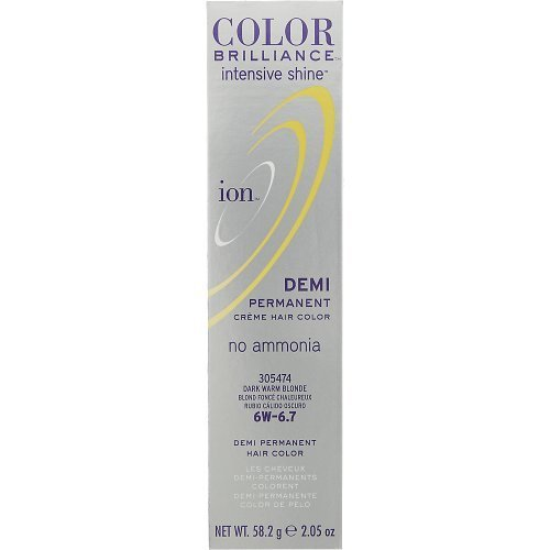 (Ion Color Brilliance Intensive Shine Demi Permanent Creme 4N Medium Natural Brown)
