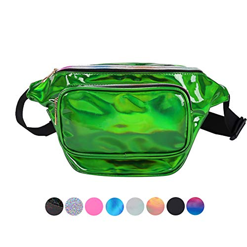green fanny pack - 2