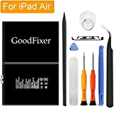 PC Hardware : GoodFixer Replacement Battery Compatible with Apple iPad Air/iPad 5, Complete Repair Tools Kit, Adhesive Strip, 0 Cycle 8827mAh Li-ion Replacement Battery [365 Days Warranty]
