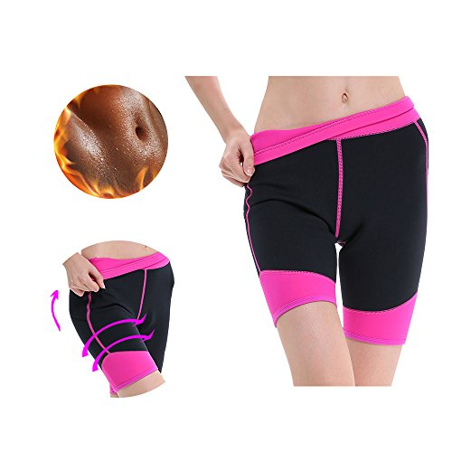 GoldFin Neoprene Swimming Shorts For Women 2mm Sauna Suits Flatlock Thick Warm Wetsuit Trunks Diving Snorkeling Winter Swimming Pants High Waist Tummy Control BS003 (L, - Shorts Ladies Wetsuit