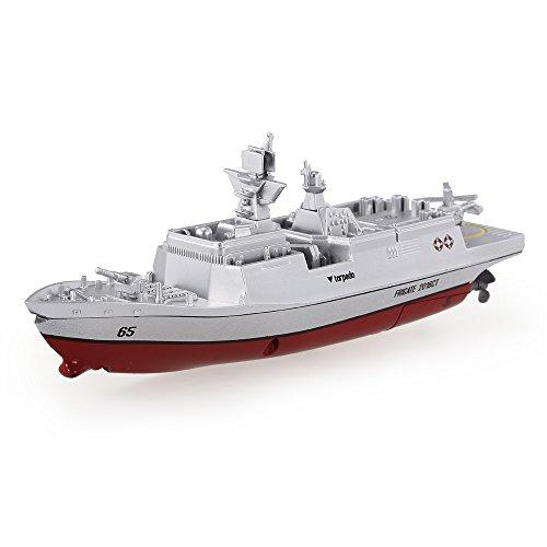 Goolsky Toys 2.4GHz ミニRCボートラジコンボート コントロール電動軍艦船 RTR 3318の商品画像