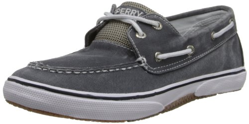 Sperry Halyard Boat Shoe , Navy, 6 M US Big Kid