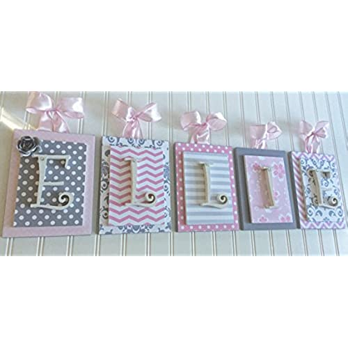wooden letters for nursery amazon com