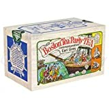 The Metropolitan Tea Company 62WD-618B-670 Boston Tea Party 25 Teabags in Wood Box