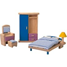 Plan Toys - Doll House Bedroom - Neo Style