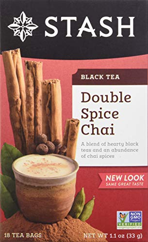 Stash Double Spice Chai Black Tea, 18 ct