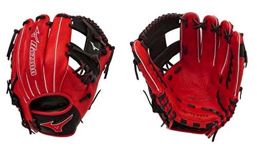 Mizuno GMVP1154SE4 MVP Prime SE Gloves, Red/Black, Right Hand Throw ()