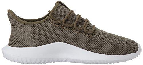 adidas Originals Männer Tubular Shadow Sneaker Olive Cargo / Olive Cargo / Weiß