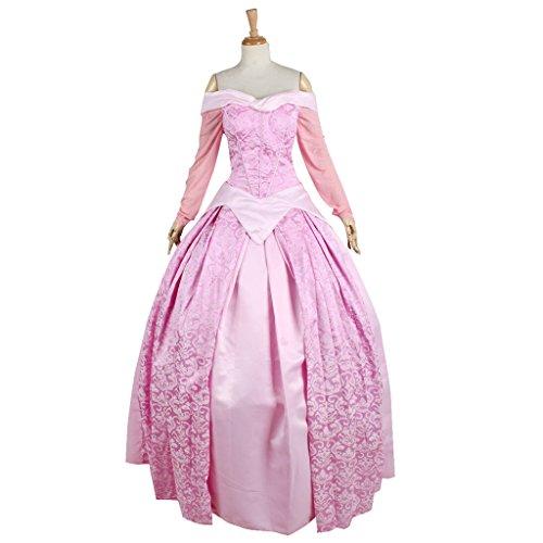 Sleeping Adult Beauty Dress (CosplayDiy Women's Dress for Sleeping Beauty Princess Aurora Cosplay Adult)