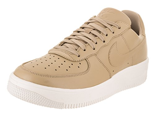 Nike Men's Air Force 1 Ultraforce Leather Mushroom/Mushroom Black Basketball Shoe 8.5 Men US by NIKE