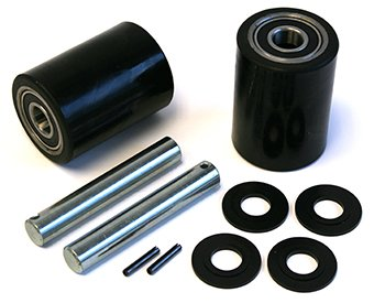 Dayton 4YX96 Load Wheel Kit Assemblies with Bearings, Axles & Fasteners by LiftsPlus (Image #1)