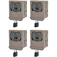 Stealth Cam Protective Security Box for ZX/RX Game Cameras, 4 Pack | STC-BBZX
