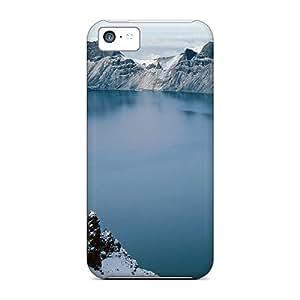 Jeffrehing GoRpLNI985MByXp Protective Case For Iphone 5c(amazing Winter Lake Photo)