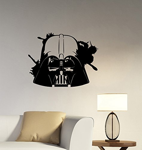 Darth Vader Wall Art Decal Vinyl Sticker Star Wars for sale  Delivered anywhere in Canada