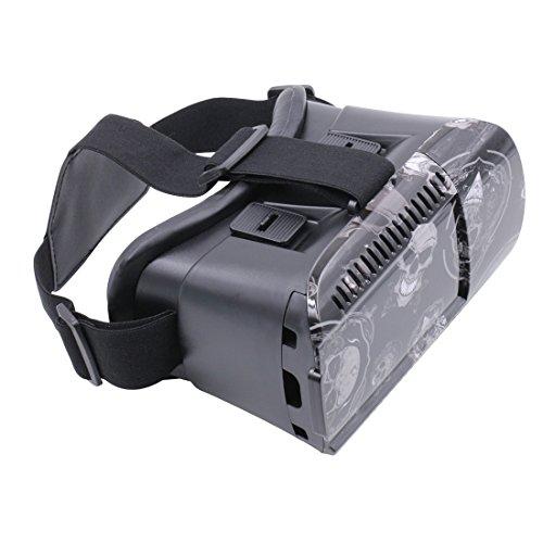 VATERDER Virtual Video Glasses,Virtual Gglasses 3D Glasses VR Headset for 3D Videos (Virtual Video Eyewear)