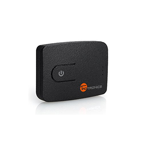 [Upgraded]Bluetooth 4.0 Transmitter, TaoTronics Wireless Transmitter for TV with 3.5mm Adapter & USB Dongle (TV