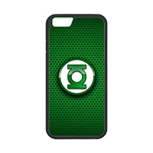 iPhone 6 Plus 5.5 Inch Cell Phone Case Black Green Lantern pqyl