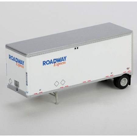Athearn HO Scale RTR 28' Trailer, Roadway Express #1 (2) ()