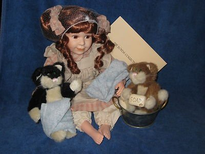 BOYDS BEARS RESIN Boyds Yesterday's Child Doll - Wendy - #4909 - NIB - Retired from Boyds Bears