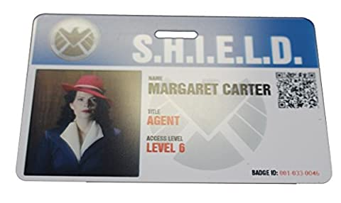 Shield Agent Carter Movie Prop Badge - Agent Badge