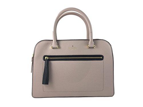 Kate Spade New York Kalen Chester Street Satchel Handbag in Almond/Black by Kate Spade New York