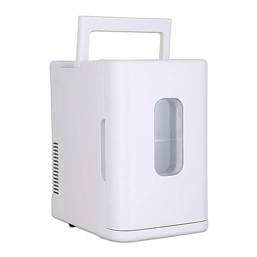 ZRXRY Mini Nevera, Mini portátil de Coche con Nevera 10L Capacidad ...