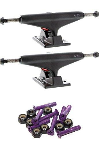 フェリー結紮ラブIndustrial IVロゴ5.5インチスケートボードトラックwith 1