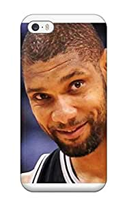 Cute Appearance Cover/tpu NpkxqwF807SAvnd Tim Duncan Case For Iphone 5/5s