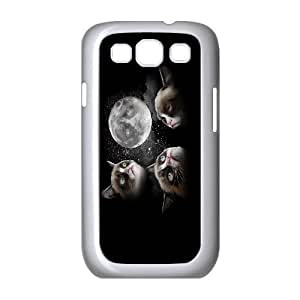 Yo-Lin case FXYL250275Cat art pattern protective case cover For Samsung Galaxy S3