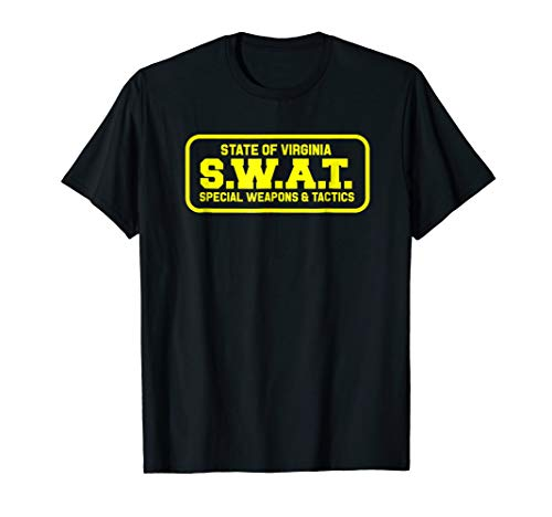 Virginia SWAT Team SRT Sheriff Law Enforcement T-Shirt