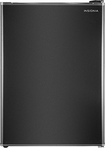 Insignia – 2.6 Cu. Ft. Mini Fridge (NS-CF26BK9) Black – New