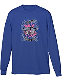Mens T-shirt Country Chicks Love To Ride