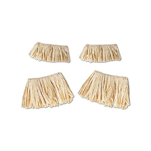 Bargain World Raffia Arm and Leg Ties (4/pkg) (with Sticky Notes)